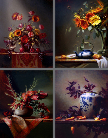 Studio Still-lifes, Set Four